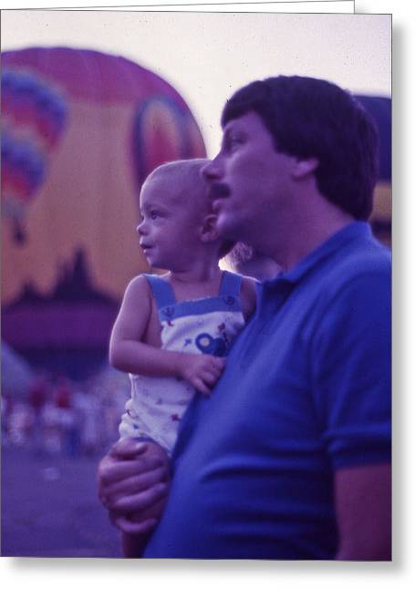 Recently Sold -  - Warner Park Greeting Cards - Hot Air Balloon - 6 Greeting Card by Randy Muir