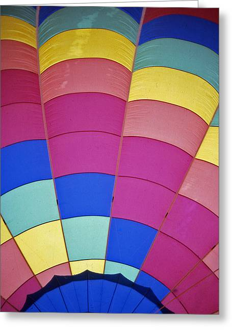 Recently Sold -  - Warner Park Greeting Cards - Hot Air Balloon - 9 Greeting Card by Randy Muir