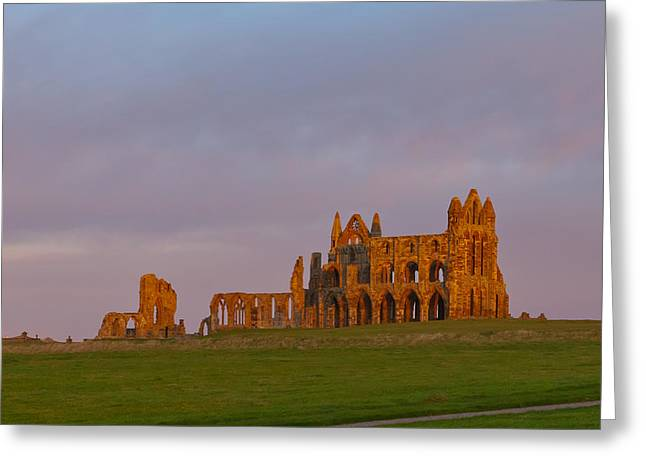 Abbey Giclee Print Greeting Cards - Hot and Cold Greeting Card by Gary Finnigan