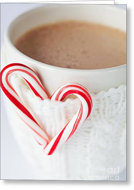 Hot Cocoa Greeting Cards - Hot Chocolate Greeting Card by Kim Fearheiley