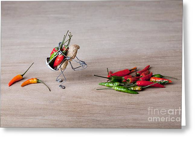 Paprika Greeting Cards - Hot Delivery 02 Greeting Card by Nailia Schwarz