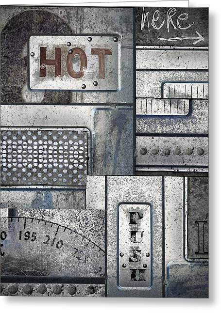 Global Warming Greeting Cards - Hot Here Greeting Card by Carol Leigh