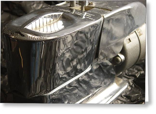 Black Man Pyrography Greeting Cards - Hot Lather Shave Cream Dispenser Greeting Card by Jason Freedman