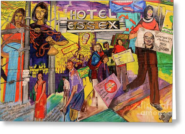 Messaging Greeting Cards - Hotel Essex  Greeting Card by Bob Christopher