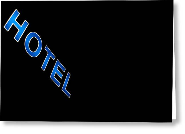 Hotel Greeting Card by Stylianos Kleanthous