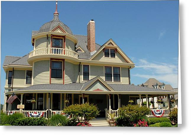 Old Inns Photographs Greeting Cards - House 203 Greeting Card by Joyce StJames