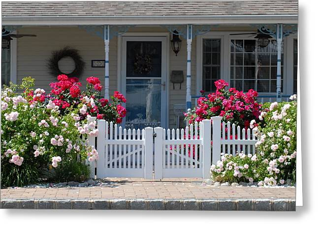 Old Inns Photographs Greeting Cards - House 214 Greeting Card by Joyce StJames