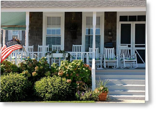 Old Inns Photographs Greeting Cards - House 215 Greeting Card by Joyce StJames