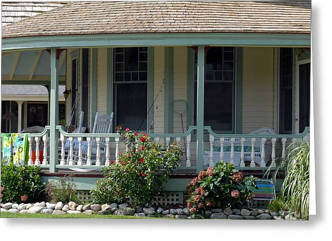 Old Inns Photographs Greeting Cards - House 217 Greeting Card by Joyce StJames
