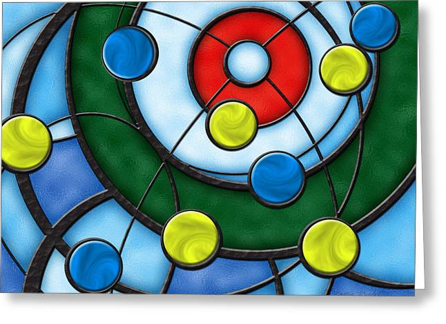 Curling Greeting Cards - House of Glass Greeting Card by Chris Rhynas