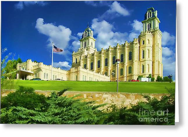 Minster Abbey Greeting Cards - House of Our Lord Greeting Card by Diana Cox
