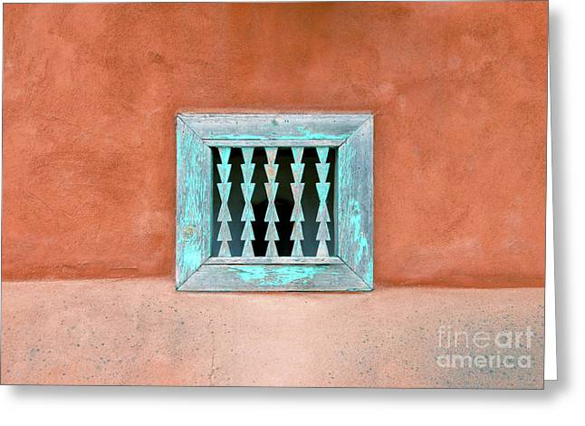 House of Zuni Greeting Card by David Lee Thompson