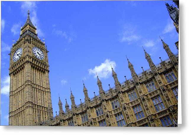 Roberto Alamino Greeting Cards - Houses of Parliament Greeting Card by Roberto Alamino