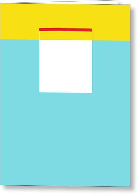 Hulo Greeting Card by Naxart Studio