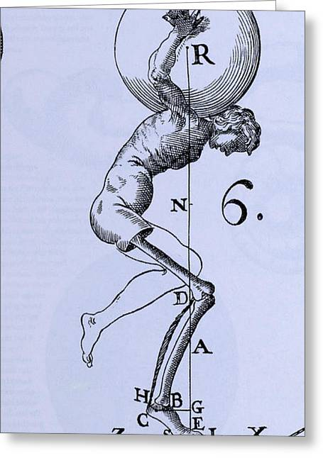 Human Body Lifting Greeting Card by Science Source