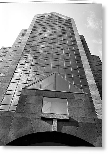 Architecture Metal Prints Greeting Cards - Humana Building I Greeting Card by Steven Ainsworth
