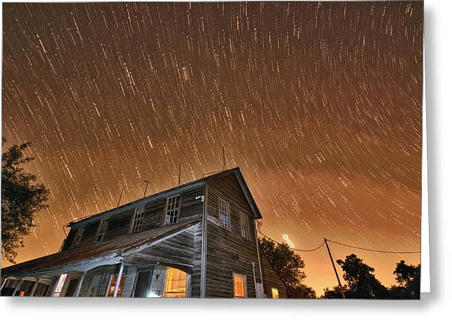 La Grange Greeting Cards - Hundred Years of Solitude Ellinger Texas Greeting Card by Silvio Ligutti