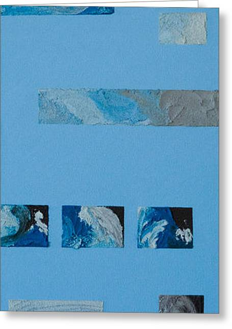 Storm Prints Greeting Cards - Hurricane 3 Greeting Card by Alison Quine