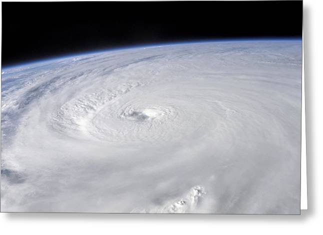 Ivan Greeting Cards - Hurricane Ivan Greeting Card by Nasa