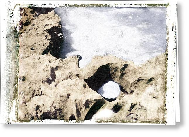 Transfer Greeting Cards - Hutchinson Island Rocks Greeting Card by Patrick M Lynch