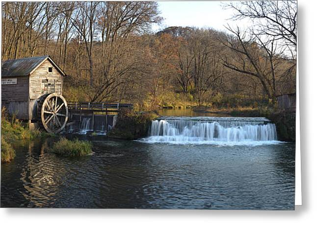 Creek Greeting Cards - Hyde Mill Wisconsin Greeting Card by Steve Gadomski