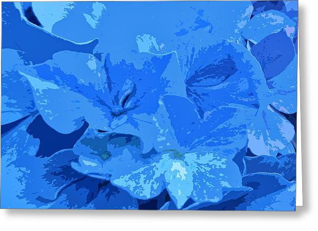 Cut-outs Digital Art Greeting Cards - Hydrangea Greeting Card by Sharon Lisa Clarke