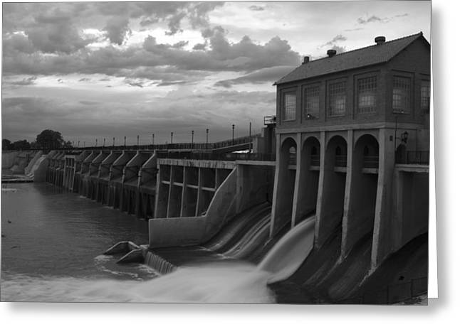 Hydroelectric Greeting Cards - Hydro Flow II Greeting Card by Ricky Barnard