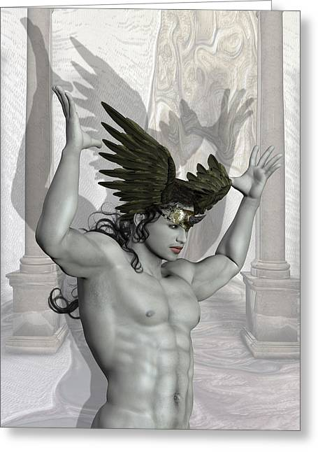 New Mind Greeting Cards - Hypnos Greeting Card by Joaquin Abella