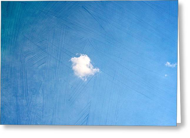 Nature. Clouds Greeting Cards - I Am One Greeting Card by Violet Gray