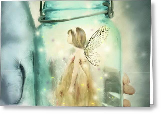 I Believe Greeting Card by Stephanie Frey