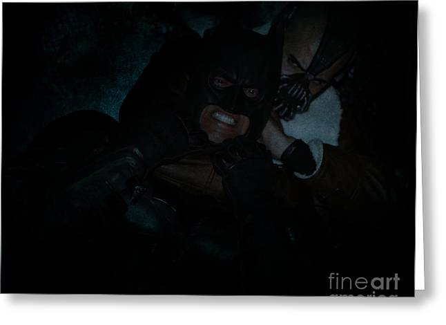 Catwoman Photographs Greeting Cards - I Got You - Batman The Dark Knight Rises Newark New Jersey Premiere Event  Greeting Card by Lee Dos Santos