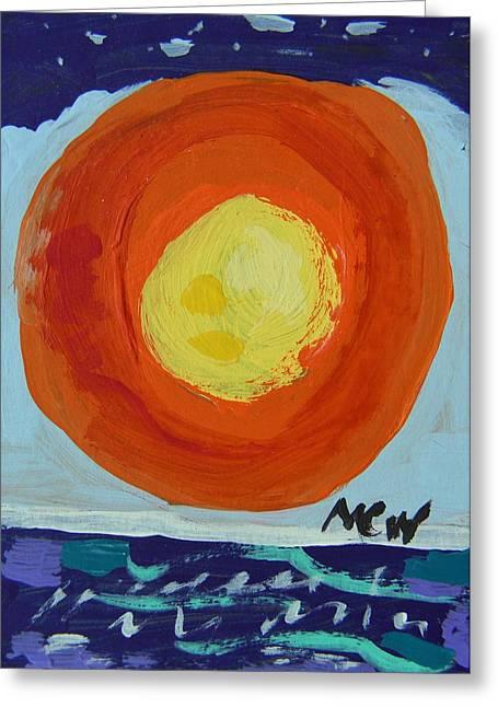 I Like A Full Sun Greeting Card by Mary Carol Williams