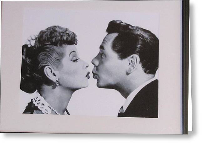 I Love Lucy Greeting Cards - I Love Lucy Greeting Card by Shawn Hughes