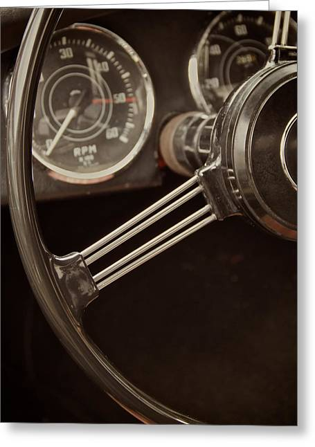Steering Greeting Cards - I Said Drive Greeting Card by Odd Jeppesen