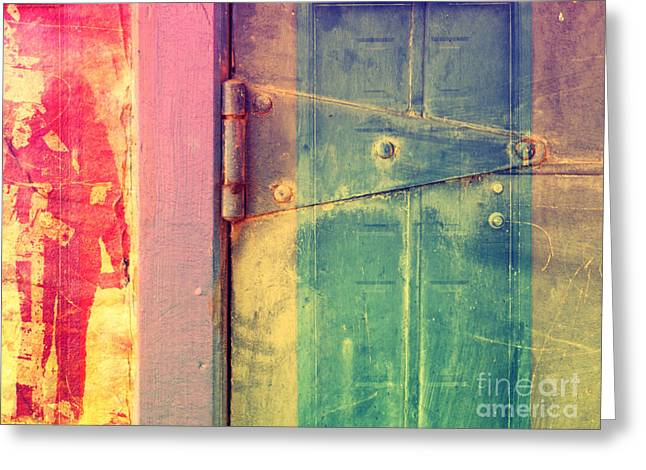 Door Hinges Greeting Cards - I Suppose These Are My Truths Greeting Card by Tara Turner
