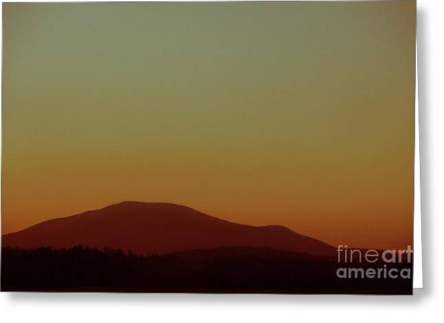 Minimal Landscape Greeting Cards - I Will Fly Greeting Card by Dana DiPasquale