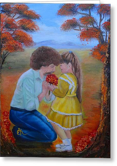 Bob Ross Paintings Greeting Cards - I Wish Greeting Card by Fineartist Ellen