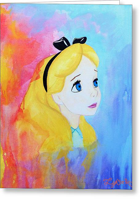 Disney Artist Greeting Cards - I Wonder Greeting Card by Lynsie Petig