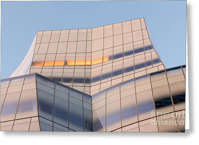 Chelsea Greeting Cards - IAC Building II Greeting Card by Clarence Holmes