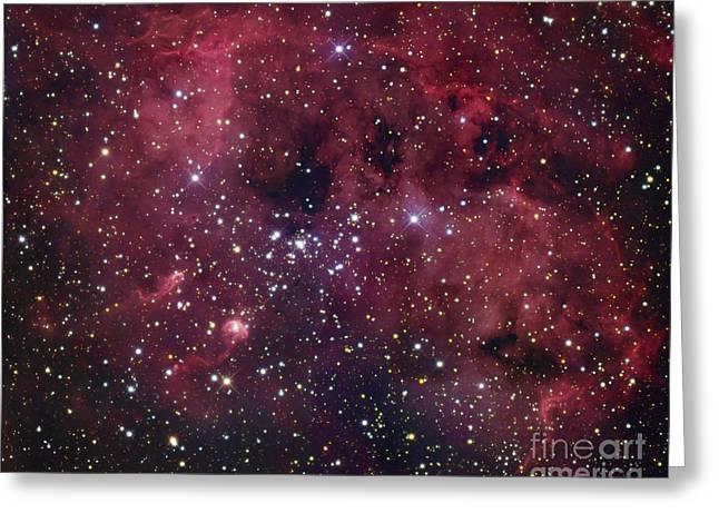 Ic 410 Emission Nebula In Auriga Greeting Card by Robert Gendler