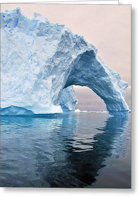 Iceberg Greeting Cards - Iceberg Alley Greeting Card by Tony Beck