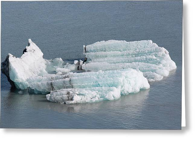 Bergy-bit Greeting Cards - Iceberg Greeting Card by Michael Flanagan