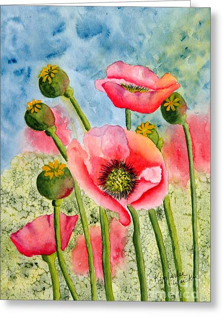 Print On Acrylic Greeting Cards - Iceland Beauties Greeting Card by Kimberlee Weisker