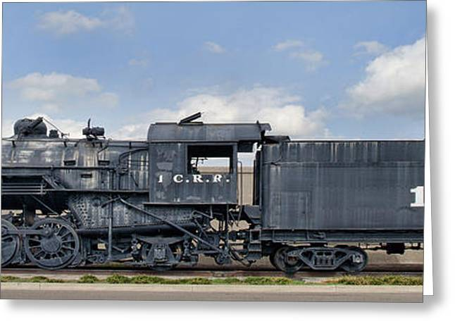 1518 Greeting Cards - ICRR Steam Engine 1518 Greeting Card by Jim Pearson
