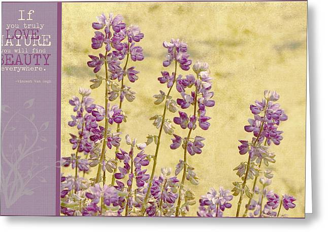Floral Photos Mixed Media Greeting Cards - If Greeting Card by Bonnie Bruno