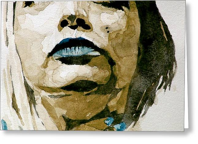 If there's a big guy up there Greeting Card by Paul Lovering