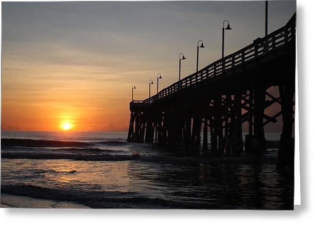 Florida East Coast Greeting Cards - Ignite the Light II Greeting Card by Mandy Shupp