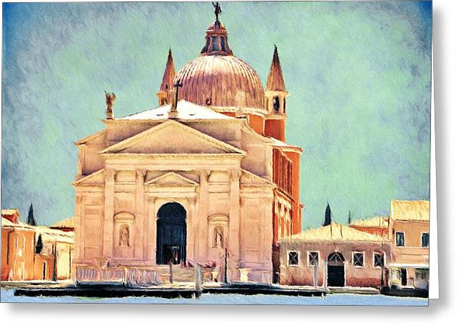 Il Redentore Greeting Card by Jeff Kolker