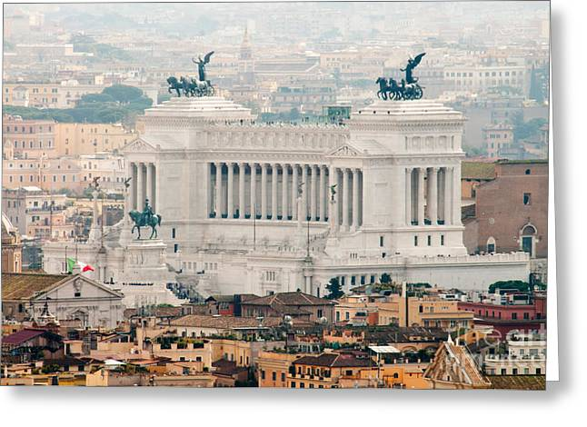 Il Vittoriano Greeting Card by Andy Smy