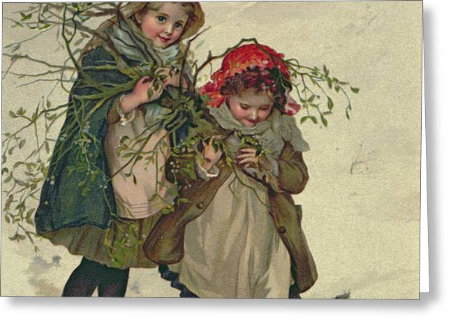 Illustration from Christmas Tree Fairy Greeting Card by Lizzie Mack